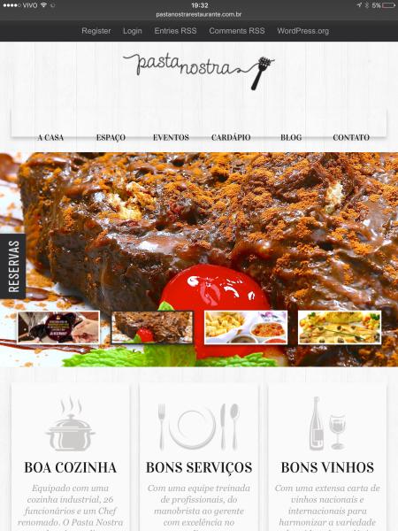 www.pastanostrarestaurante.com.br